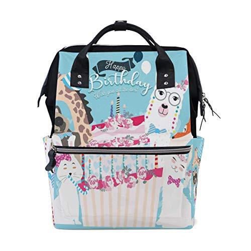 Körperpflege Baby- und Kinderpflege Wickeln Wickeltaschen Rucksäcke Dark Blue Boho Flower Pattern School Backpack Large Capacity Mummy Bags Laptop Handbag Casual Travel Rucksack Satchel For Women Men