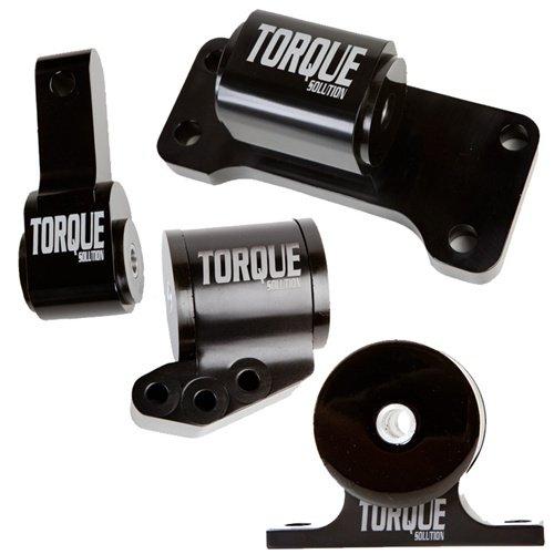 Torque Solution TS-EV-1235 Aluminum 4 Piece Engine Mount Kit(Billet Mitsubishi Evolution 01-06 (5sp Only))