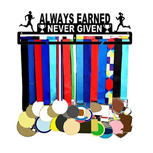 yummyfood Medallero Colgador De Carreras Expositor De Medallas Maratón Inspirador Porta Medallas Medallón De Metal Expositor De Almacenaje Expositor De Gancho De Almacenamiento