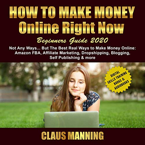 How to Make Money Online Right Now: audiobook cover art
