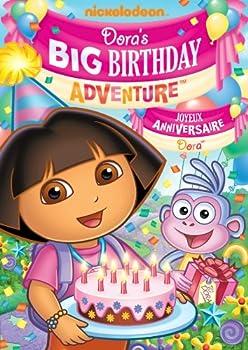 DVD Dora's Big Birthday - Adventure Book