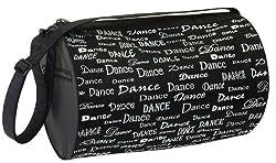 Dansbagz Dance Fonts Roll Duffel Bag
