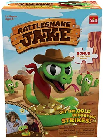 Rattlesnake Jake Get The Gold Before He Strikes Game Includes A Fun Colorful 24pc Puzzle by product image