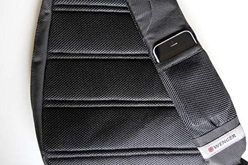 51iZzTlyM5L - Wenger Premium Cross Body Bag - Bolso deportivo para hombre y mujer, bolsa de deporte, bolsa de hombro para esquí…