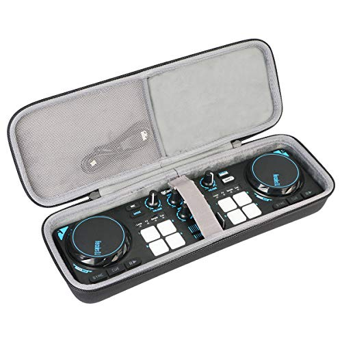 Find Bargain co2crea Hard Travel Case for Hercules DJControl Compact Portable DJ Controller