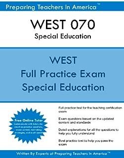WEST 070 Special Education: WEST 070 Special Education Exam