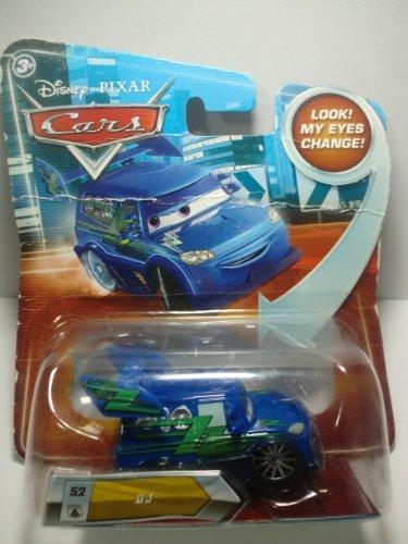 Disney Pixar Cars DJ (lenticular, look! my eyes change!) - Véhicule Miniature - Voiture