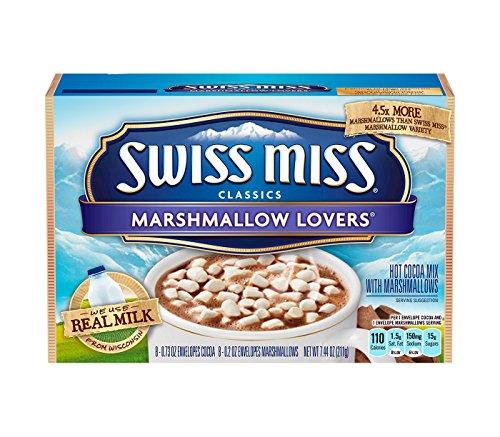 Swiss Miss Classics Marshmallow Lovers Hot Cocoa Mix スイスミスクラシックスマシュマロラバーズホットココアミックス 8カップ分 [並行輸入品]