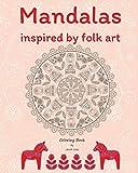 Mandalas inspired by folk art Coloring Book