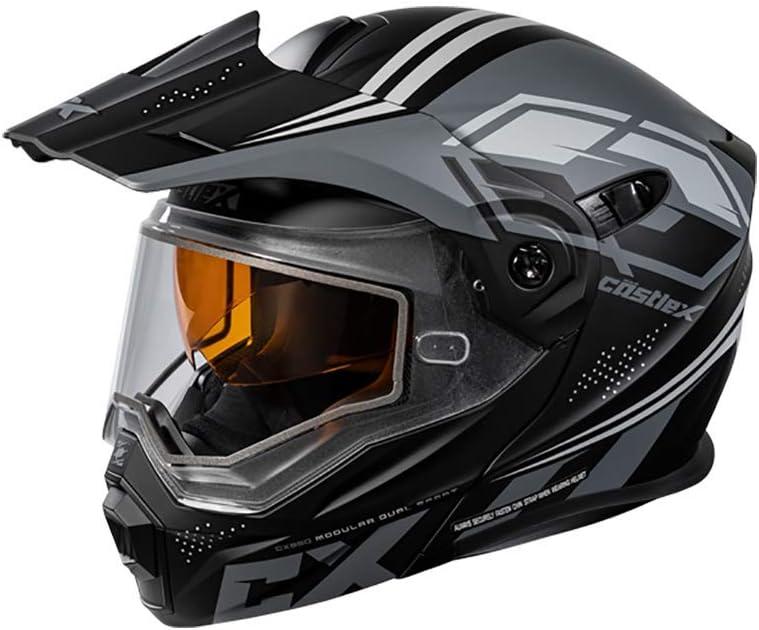 Castle X EXO-CX950 Boston Al sold out. Mall Siege Modular in Snowmobile Char Black Helmet