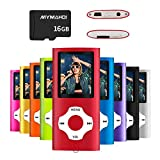 MYMAHDI MP3/MP4 Music Player with 16 GB Micro SD Card(Expandable Up to 128GB),Supporting