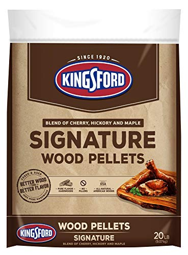 Kingsford Wood Pellets, Signature Blend of Cherry, Hickory and Maple, 20 pounds