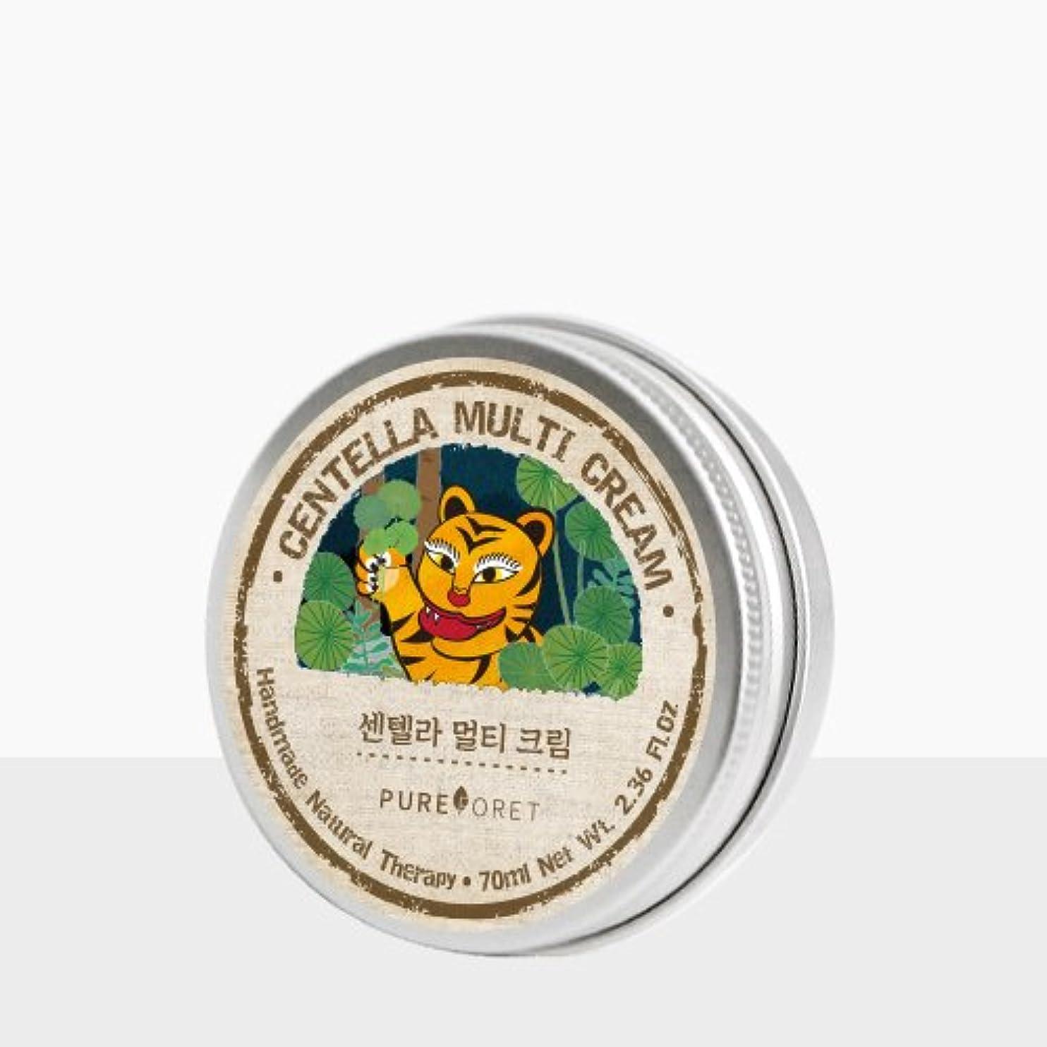 小麦キャップ羨望Pureforet センテラマルチ クリーム (70ml)