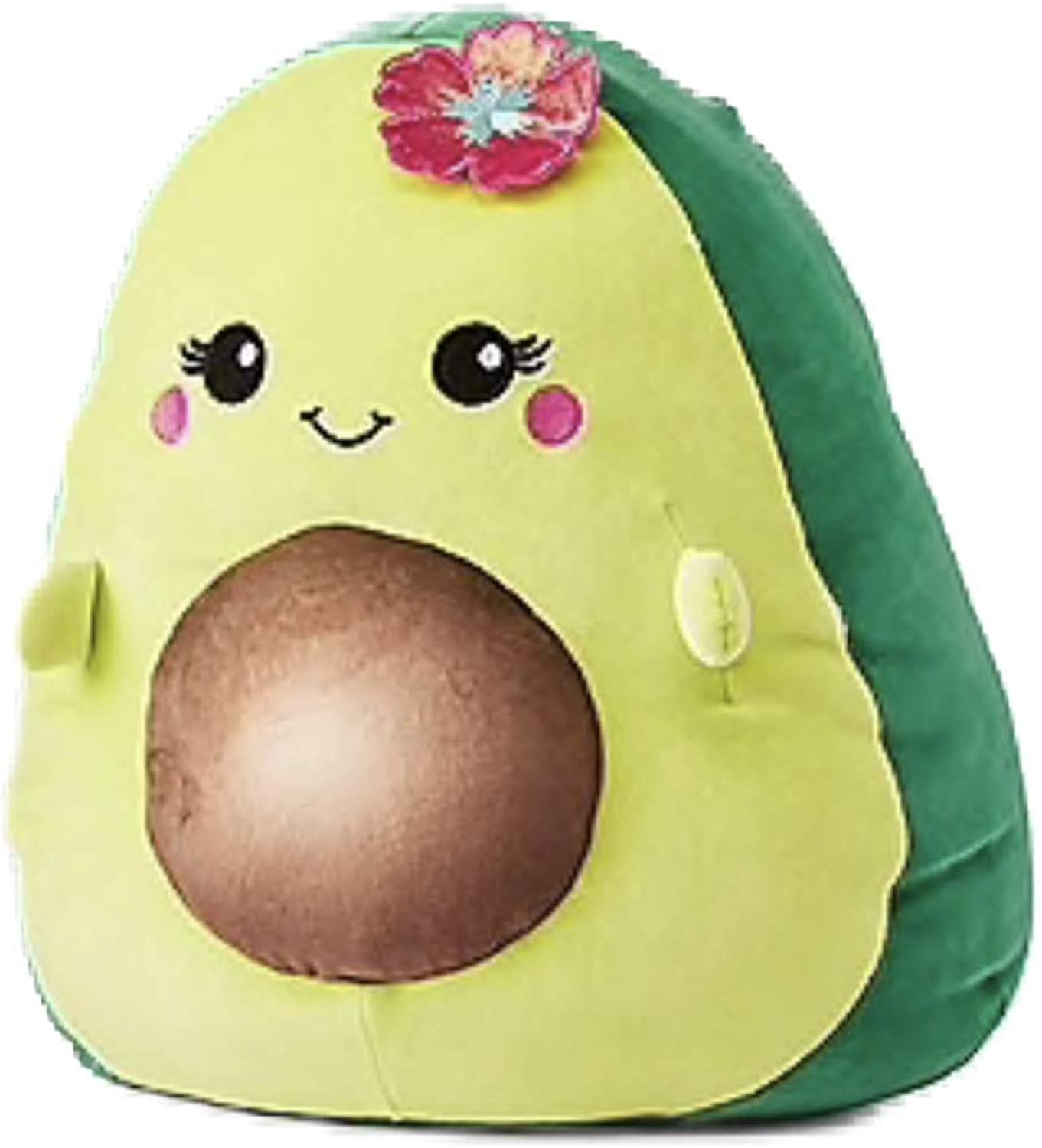 Squishmallows Justice 16  Ava The Avocado Mixed Berry Scented Green Super Soft Plush Pillow Stuffed Animal