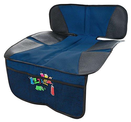 Walser Kindersitzunterlage Graffiti blau