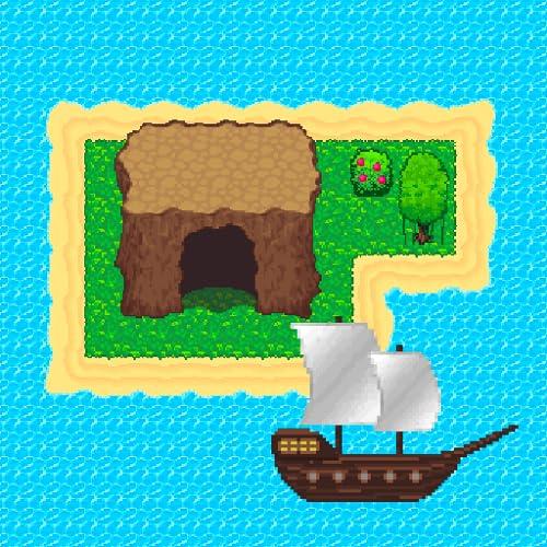 Survival RPG: verlorenen Schatz 2D Retro Abenteuer. Finde den Schatz und entkomme den Inseln.
