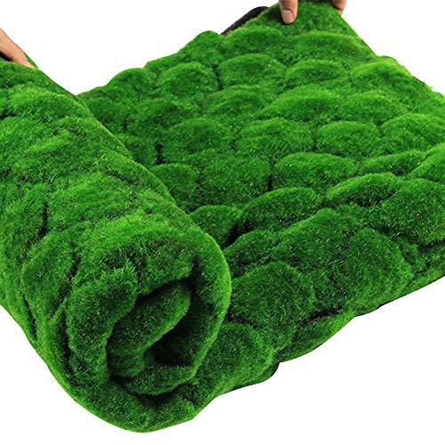 QUUY Alfombra de Paja de Pascua de Navidad, Alfombra de césped Artificial Verde césped Falso césped casero jardín Musgo Piso casero decoración de Boda DIY