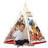 John 78607 - Yakari Tipi Zelt - Indianerzelt, Wigwam, Spielzelt, Kinderzelt, Spielhaus mit...