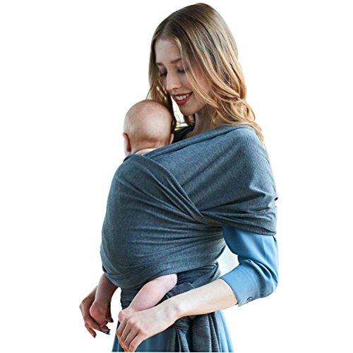 Honeststar Babytragetuch Kindertragetuch Babybauchtrage Sling Tragetuch für Baby Neugeborene Innerhalb 18 KG