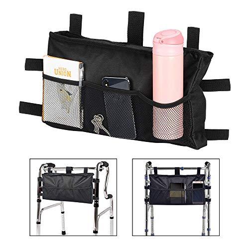 Walker Tasche Rollstuhl-Aufbewahrungstasche, für Mobilitätshilf, Rollstuhl-Zubehör, für ältere Menschen, Senioren, behinderte Menschen