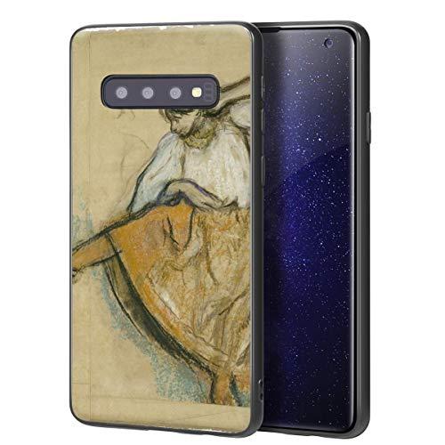 Berkin Arts Edgar Degas Custodia per Samsung Galaxy S10/Custodia per Cellulare Art/Stampa giclée UV sulla Cover del Telefono(El bailarín Ruso)