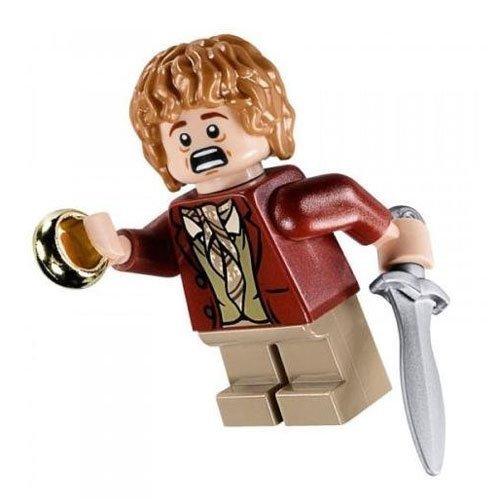 LEGO La Hobbit: Bilbo Baggins (Rouge Coat) Mini-Figurine