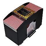 Automatischer Kartenmischer, 4 Kartenspiele Können Gemischt Werden, Batteriebetriebene Kartenmischmaschine, Elektrischer Mischer Für Texas Hold'em, Poker, Home Card Games