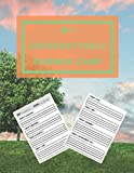 My Unforgettable Summer Camp: Perfect Camping Diary of Notebook for Kids To Record Traveling Experiences, 100 Pages, 8.5' x 11' inches, A Simple, Easy ... Document and Remember All Their Trips Away !