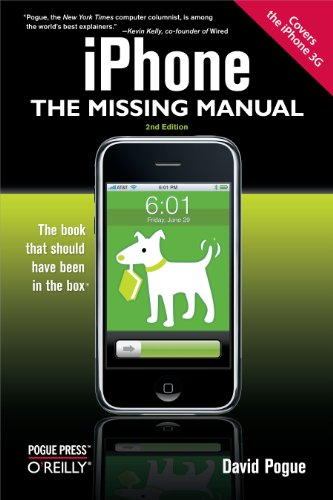 iPhone: The Missing Manual: Covers the iPhone 3G (English Edition)