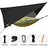"Trekassy 118""x 78"" Portable Double Camping Hammock with Removable Mosquito Bug Net,..."