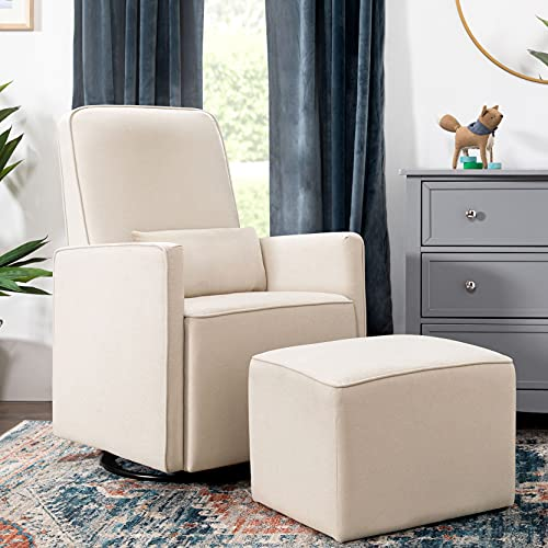 he DaVinci nursery swivel glider is the perfect comfortable chair for small spaces