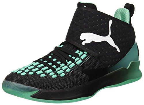 Puma Unisex-Erwachsene Rise XT Fuse 1 Multisport Indoor Schuhe, Schwarz Black-Biscay Green White, 48.5 EU