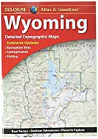 Garmin Delorme Atlas & Gazetteer ペーパーマップ - ワイオミング (010-12694-00)