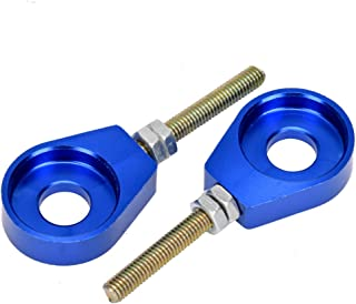 HIAORS 15mm Chain Tensioner Adjuster for 70cc 110cc 125cc 140cc Chinese Lifan YX Stomp Dirt Bike Pit ATV Motorcycle Blue