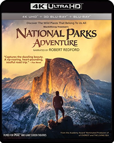 IMAX: National Parks Adventure (4K UHD & Bluray) [Blu-ray]
