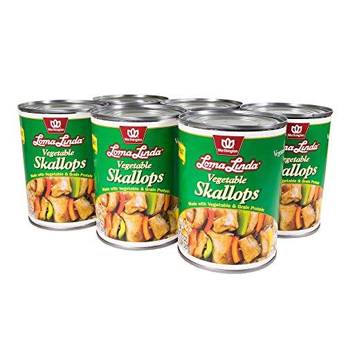 Loma Linda - Plant-Based - Vegetable Skallops (20 oz.) (Pack of 6) - Kosher