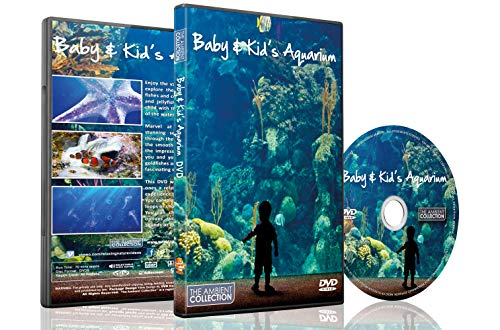 Aquarium DVD For your Home - Baby and Kids Aquarium TV - for Childs Sleep Aid also Entertain Children with Sea Horse,Clown Fish,Jelly Fish,Gold Fish and Much More