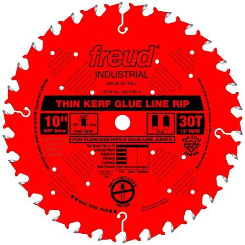 Freud 10' x 30T Industrial Thin Kerf Glue Line...