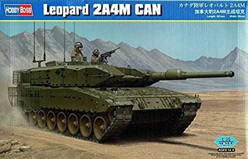 1 35 Fighting Vehicles Series Canadian Army Leopard 2AM4 Plastic   HBS83867 1 35 Hobby Boss Leopard 2A4M CAN [MODEL BUILDING KIT] by Hobby Boss
