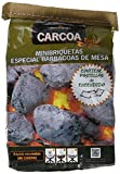 Carcoa Wonder Briquettas Briquetas de Carbón Vegetal, Negro, 18x8x29 cm, 1038