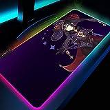 Alfombrillas de ratón Anime Varita mágica Chica Megumin Alfombrilla de ratón para...