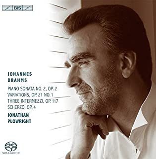 Brahms: Works for Piano by Jonathan Plowright (2014-05-04)