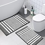 Best Bathroom Rugs - Bathroom Rugs Set 2 Piece, Extra Soft Review