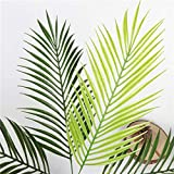 Homyl Grün Kokosnuss Palmblätter Kunstblätter Deko Künstliche Blätter - 3 - 8