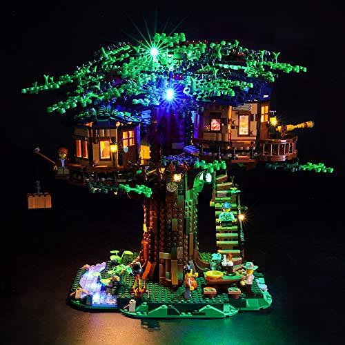 LIGHTAILING Licht-Set Für (Ideas Baumhaus) Modell - LED Licht-Set Kompatibel Mit Lego 21318(Modell Nicht Enthalten)