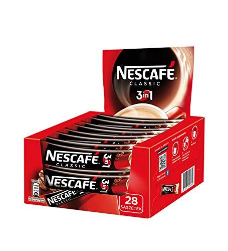 Nescafe classic 3 in 1, (28 x 16.5g)