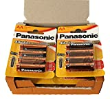 Panasonic POWER LR6 AA - Pack de 48 pilas alcalinas