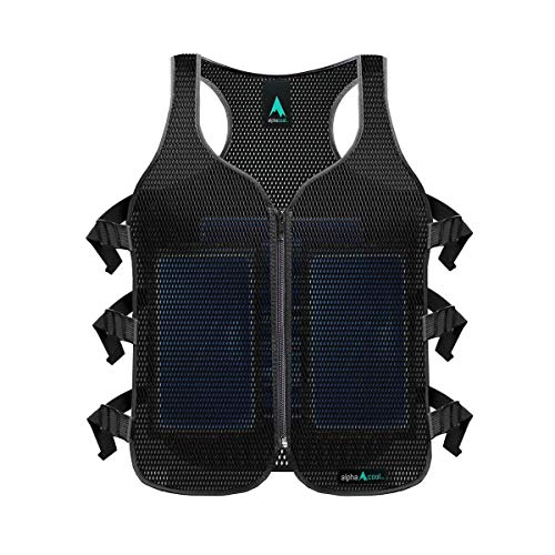 Alphacool Frosty Mesh Ice Vest for Men and Women – Cooling Vest with Ice Packs, 2 Sets – Three...