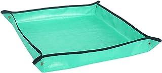 Fenteer PE Waterproof Gardening Mats Turn Basin for Soil Planting Pad Balcony Garden Planting Operation Mat