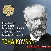 Symphony No.4, 5, 6 & Francesca Da Rimini: Drati Monteux Markevitch / Lso